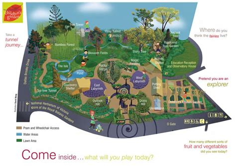 Cranbourne Botanic Gardens Map 1000 Images About Inspirational Parks Spaces On
