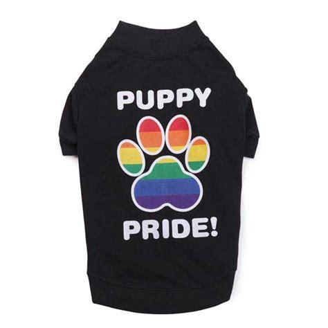 puppy pride puppy pride t shirt black baxterboo