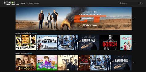 amazon video prime amazon prime video le nouveau netflix est disponible en