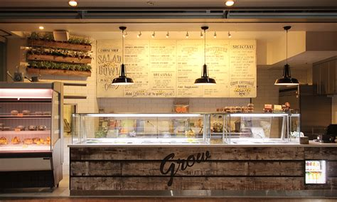design cafe juice grow salad and juice bar designed by creative differences