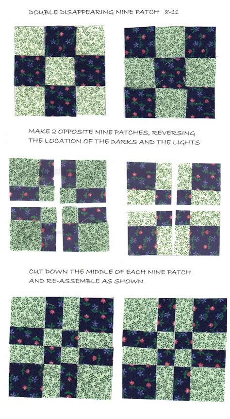 quilt pattern variations disappearing 9 patch picmia