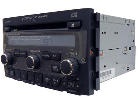 honda pilot radio xm satellite aux  disc cd changer tv sva ebay