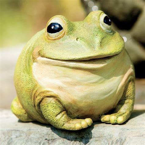 Frog Garden Decor Garden Statues Product Garden Decor Medium Portly Frog
