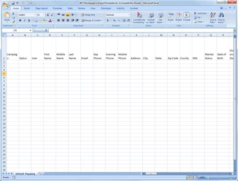 spreadsheet template how do i import leads from a spreadsheet velocify