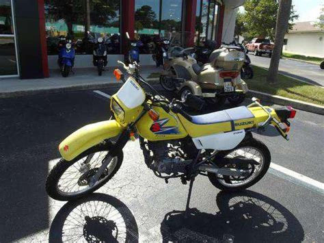 2006 Suzuki Dr200se Yellow Suzuki Dr For Sale Find Or Sell Motorcycles