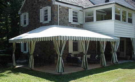 custom patio awnings custom patio and deck canopies maccarty and sons awnings