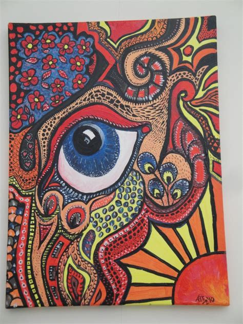acrylic painting zentangle 42 best images about doodle on acrylics