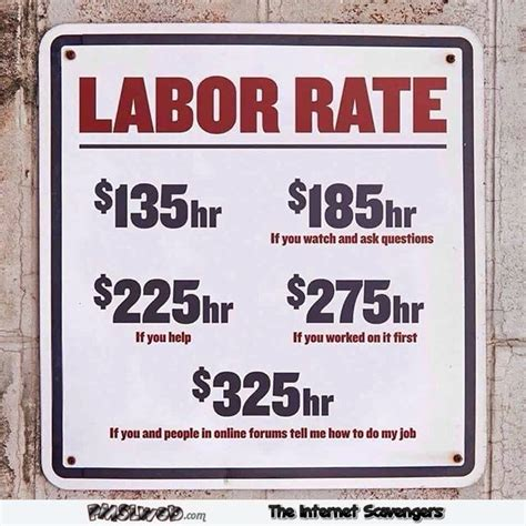 labor signs labor rates sign pmslweb