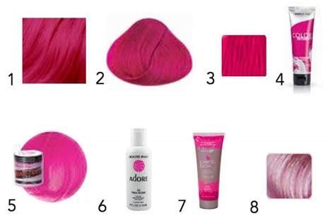 raw hair dye instructions 12 ways to wear pink hair