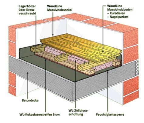 fließestrich auf holzboden fu 223 bodenaufbau