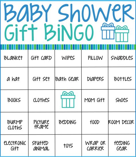 bingo baby shower card template free make your next baby shower memorable with these free