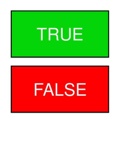 true or false circle theory cards by uk teaching