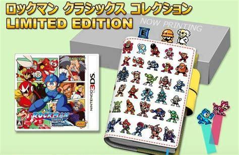 Kaset 3ds Mega Legacy Collection crunchyroll quot mega legacy collection quot gets limited physical edition on 3ds in japan