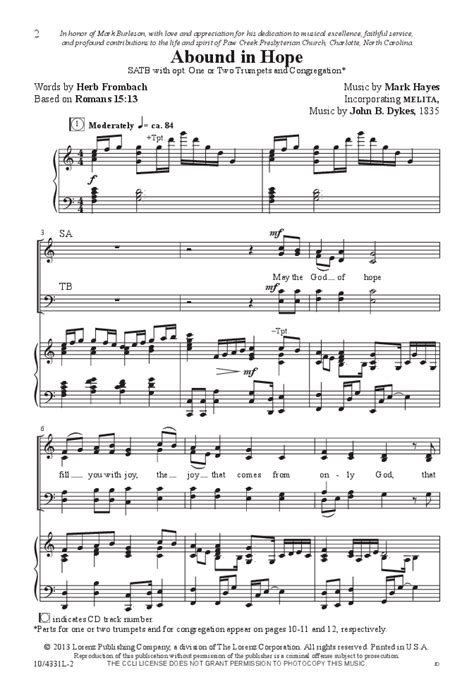 the comforter has come hymn abound in hope satb by mark hayes j w pepper sheet music