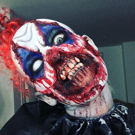 zombie clown tutorial clown halloween killer on instagram