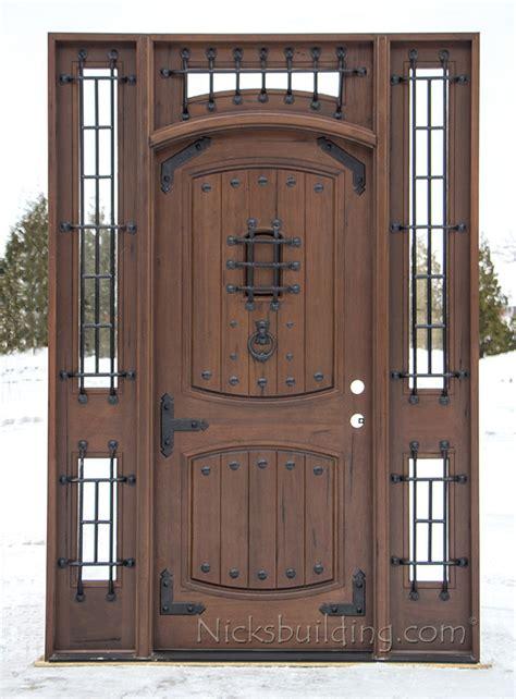 Teak Exterior Doors Teak Front Door