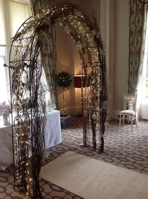 wedding arches  aisle decoration