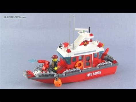 lego pontoon boat lego custom fire boat moc youtube