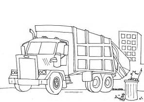 garbage truck coloring page dump truck coloring pages az coloring pages