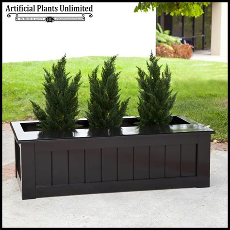 bench for plants bench planter and custom faux plants artificial plants