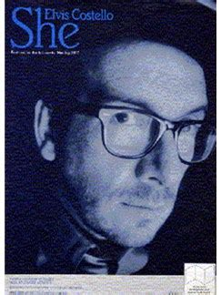 All The Single Costello elvis costello she piano and voice with guitar chord