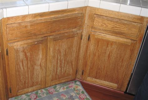 Water Damaged Kitchen Cabinets Cabinet Care