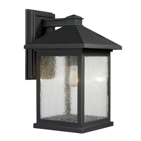 home design outdoor living credit card filament design malone 1 light oil rubbed bronze outdoor