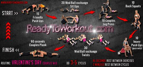 valentine s day couples workout routine ready to workout