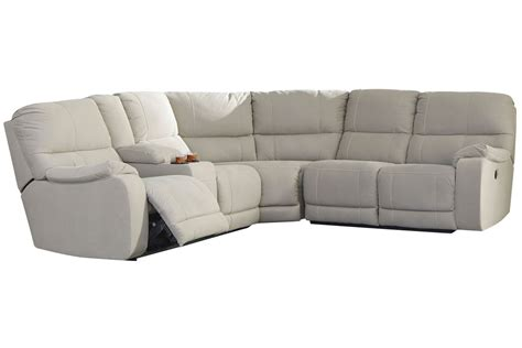 3 piece reclining sectional bohannon 3 piece power reclining sectional at gardner white