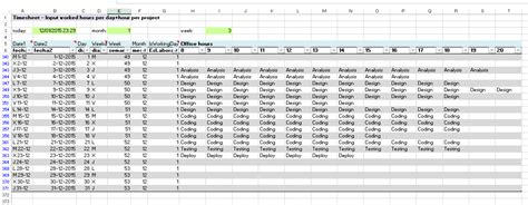 table hours excel exles for your work sports and more timesheet