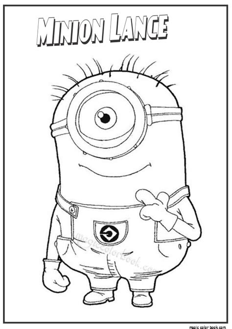 minion rush coloring page free coloring pages of minion rush
