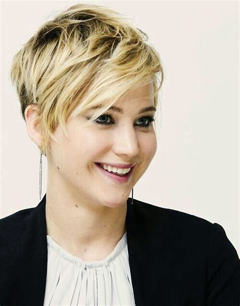 plus size but edgy hairstyles 15 hottest short haircuts for women jennifer lawrence