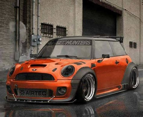 Mini Motorrad Orange by Mini Cooper Orange Tuning Bombastic Mini Cooper
