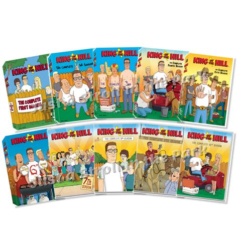 Series 7816 4 Set 3 In One king of the hill mike judge tv series complete seasons 1 10 box dvd set s new ebay
