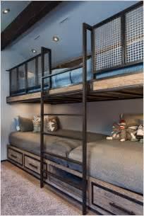 Loft Bed Railing 10 Cool Built In Bunk Bed Rail Ideas