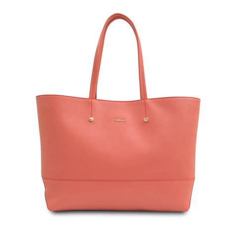 Furla Tote Bag furla medium saffiano tote bag in pink lyst