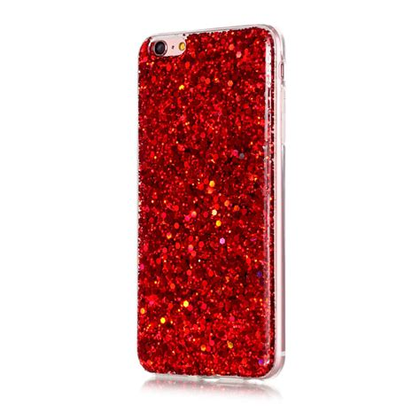 Silicon Casing Hardcase Gliter Iphone 6 Iphone 6 Plus glitter bling shockproof silicone tpu slim back cover for iphone 6s 7 plus