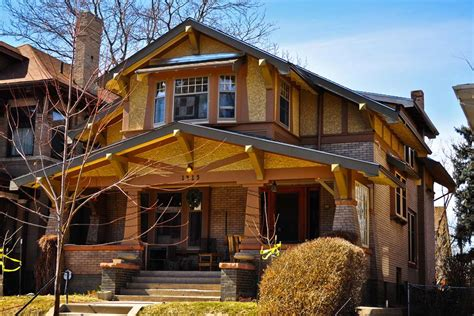 Different Style Of Houses denver s single family homes by decade 1900s