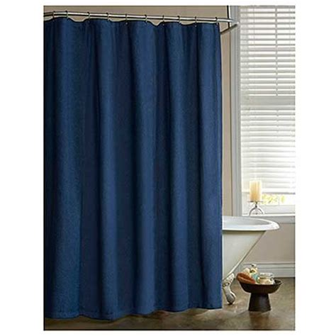 American Denim Shower Curtain Blue Jean Bedding