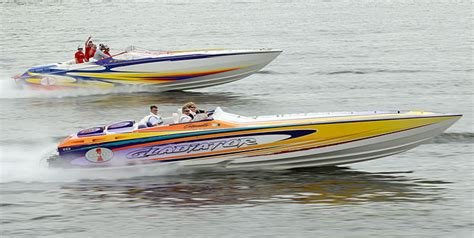 cigarette boat lake of the ozarks expectations high for support our troops poker run
