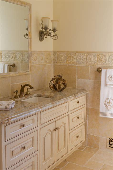 off white bathroom vanity traditional glazed off white bathroom vanity traditional