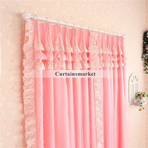 Ruffled Pink Curtains Pink Ruffle Curtains Gallery Of More Views With Pink Ruffle Curtains Home Essence