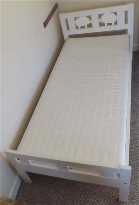 detachable bunk beds ikea ikea kritter bed white with wooden slats and detachable