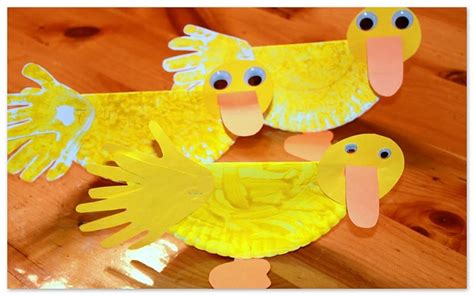 Paper Plate Duck Craft - paper plate duck the story about ping