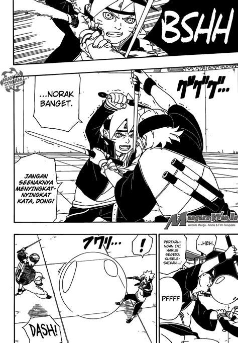 boruto ujian chunin bahasa indonesia komik boruto chapter 4 bahasa indonesia