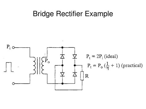 bridge diode rectifier design ppt magnetic design considerations powerpoint presentation id 5435177
