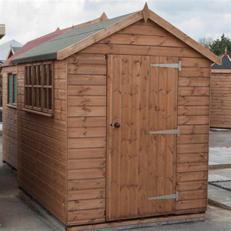 Heavy Duty Shed by Fort Alston Heavy Duty Apex Shed