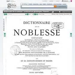 1293807206 dictionnaire de la noblesse contenant nobiliaires pearltrees