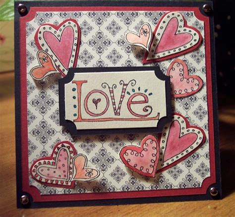 Handmade Cards 2014 - 25 beautiful valentine s day card ideas 2014