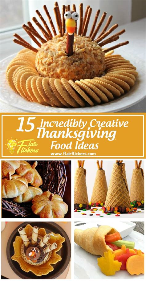 thanksgiving food list 15 creative food ideas for a